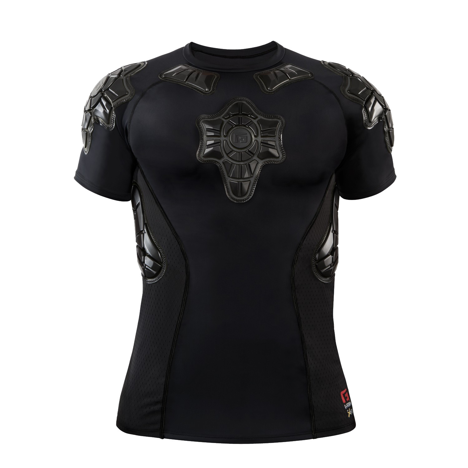 Tee-shirt de protection G-Form Pro-X Noir/Gris - M