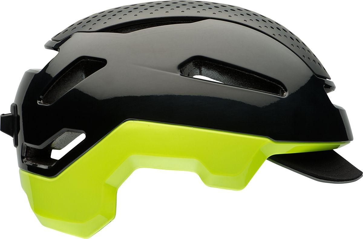 Casque Bell HUB Noir/Jaune retina - M (55-59)