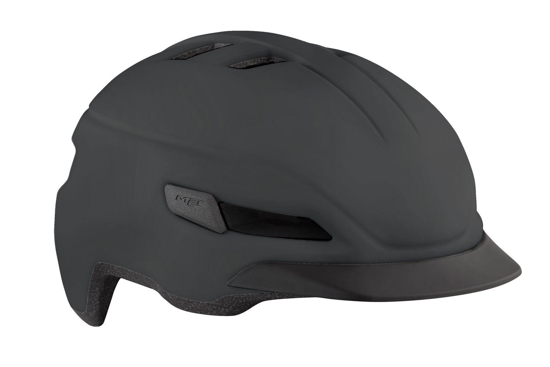 Casque MET Corso Noir Mat - 52-56