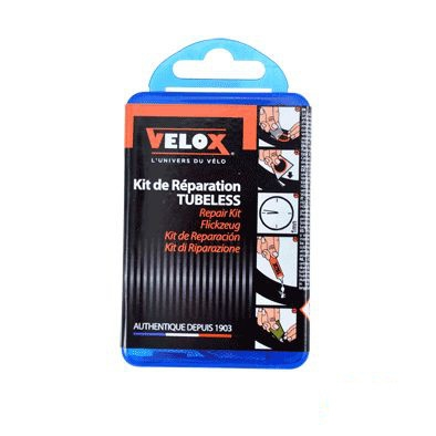 Kit de réparation pneu Tubeless VELOX