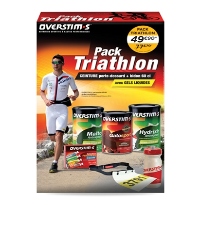 Pack Triathlon Overstims