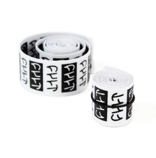 Fonds de jante CULT Stack Logo Noir/Blanc (la Paire)