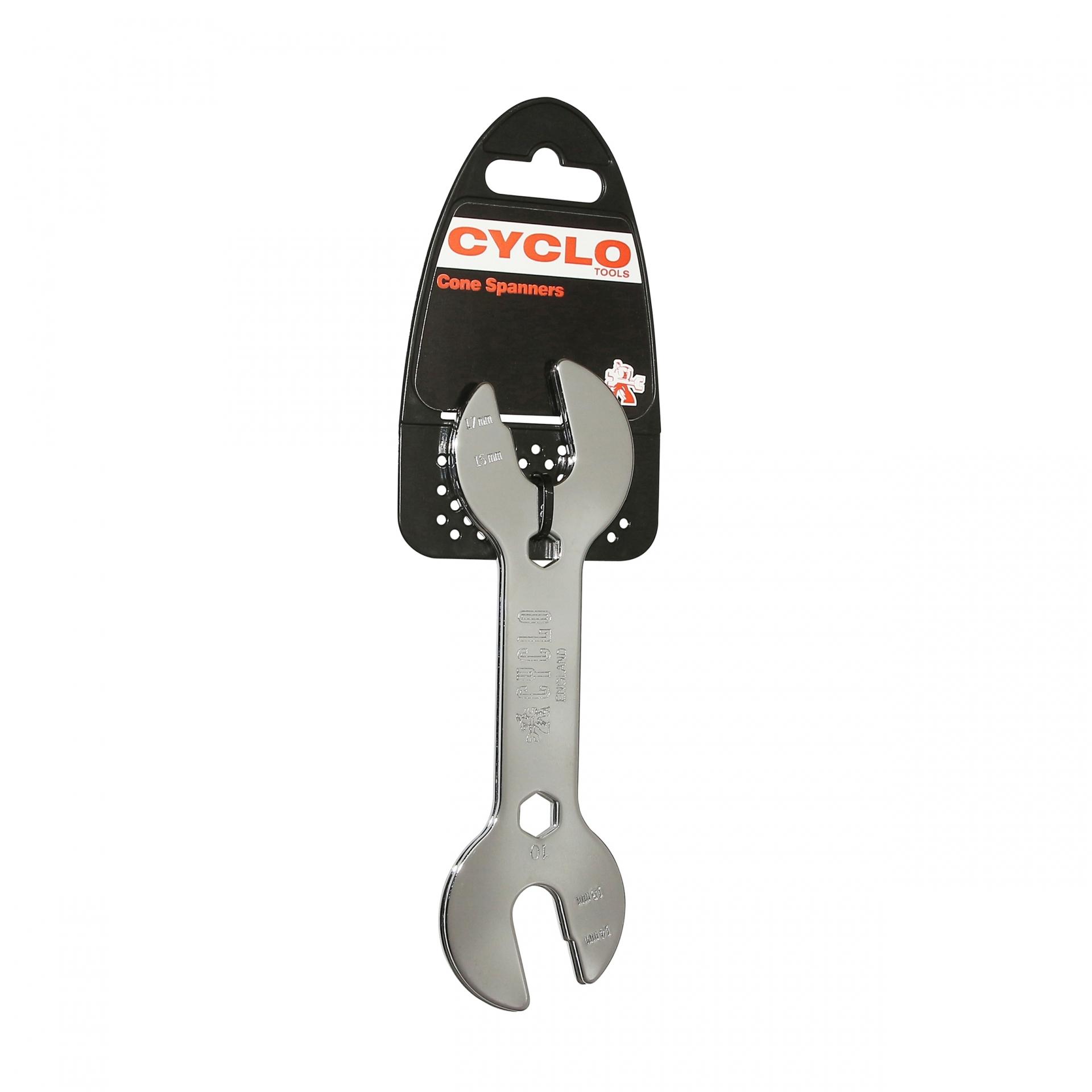Clés à cône Weldtite Cyclo 13/14 mm et 15/17 mm