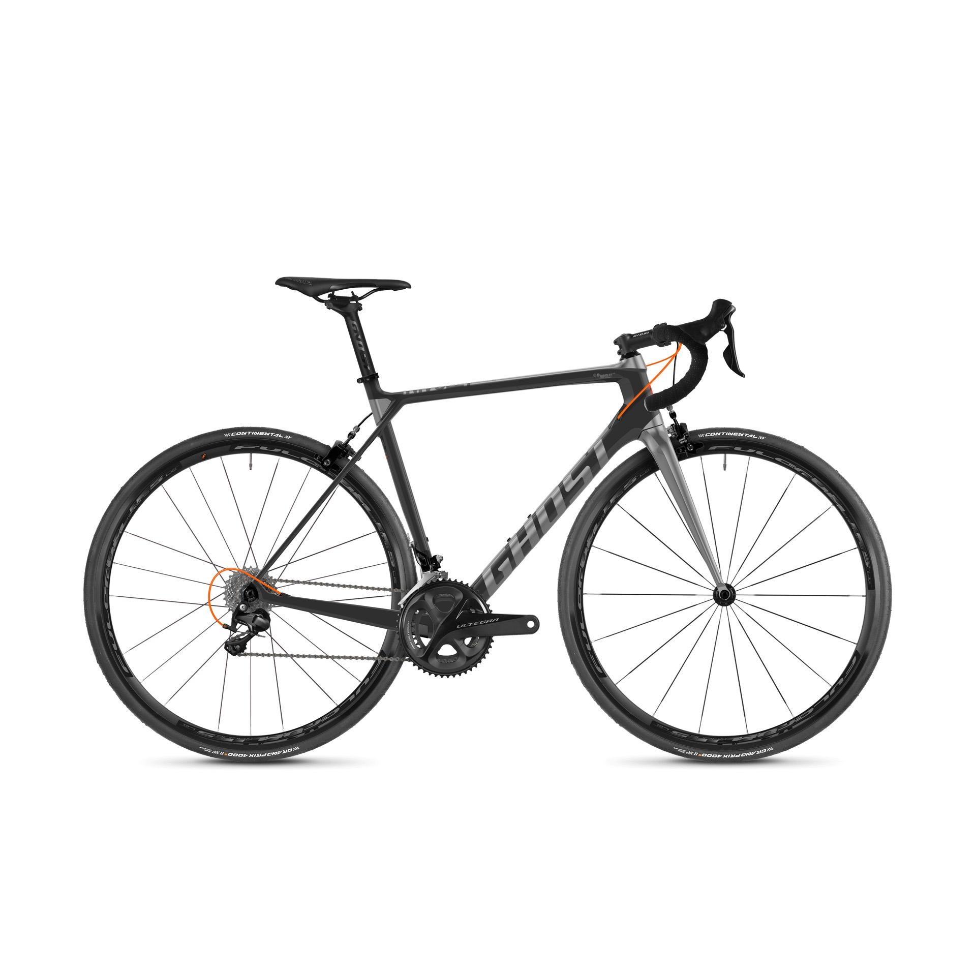Vélo de route Ghost Nivolet 6.8 LC Gris/Titanium - M