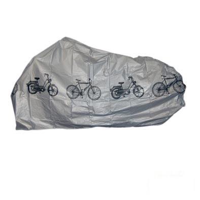 Housse de protection vélo PVC fin 200 x 110 cm Gris