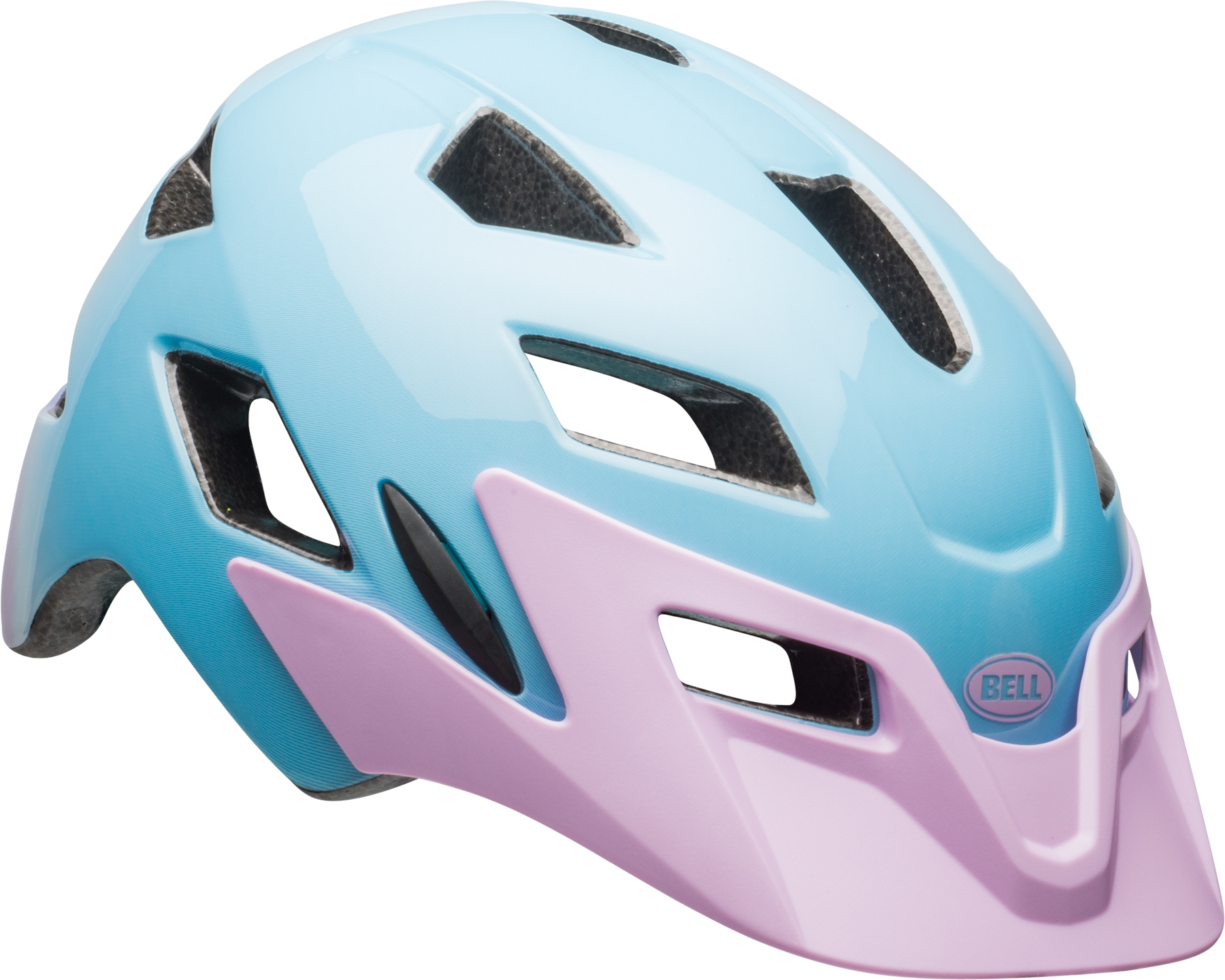 Casque junior Bell SIDETRACK YOUTH Lilac Flutter
