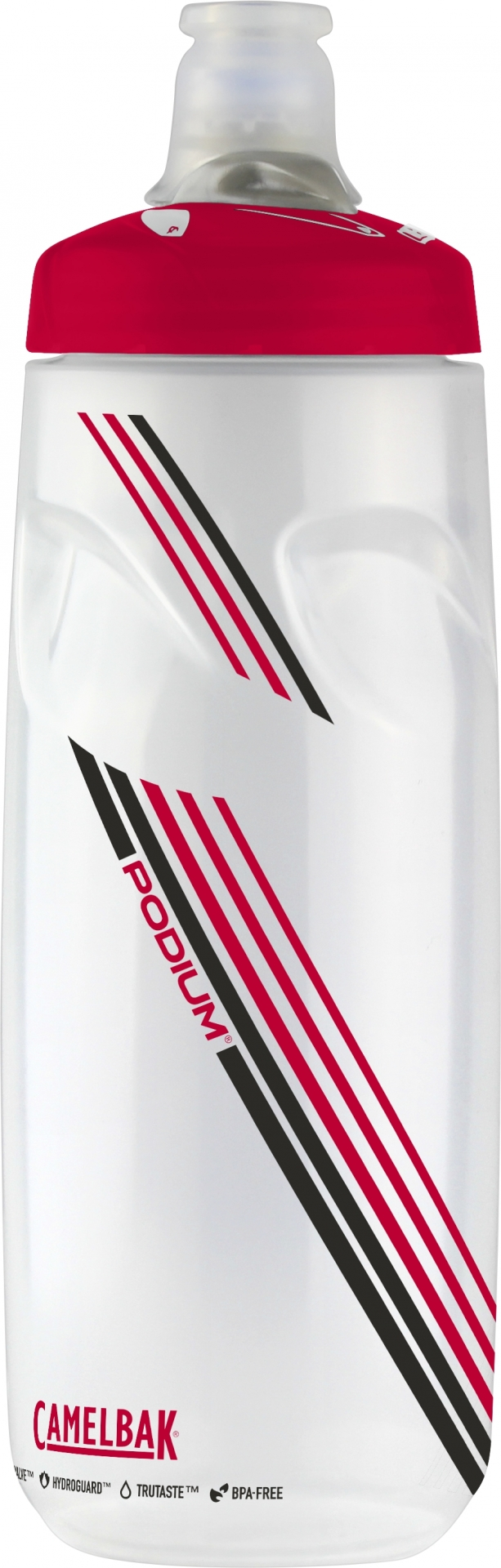 Bidon CamelBak Podium 710 ml Transparent/Rouge