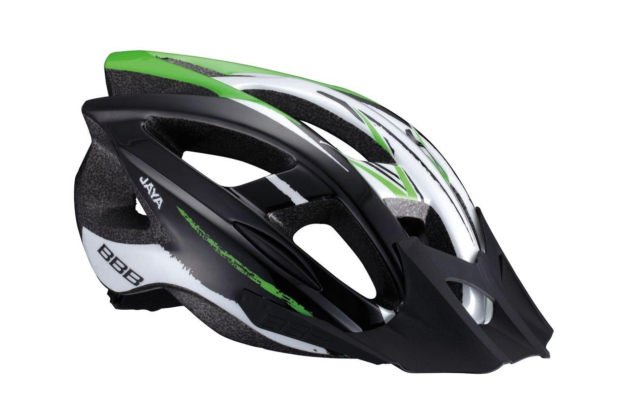 Casque BBB Jaya (noir/vert) - BHE-28 - M