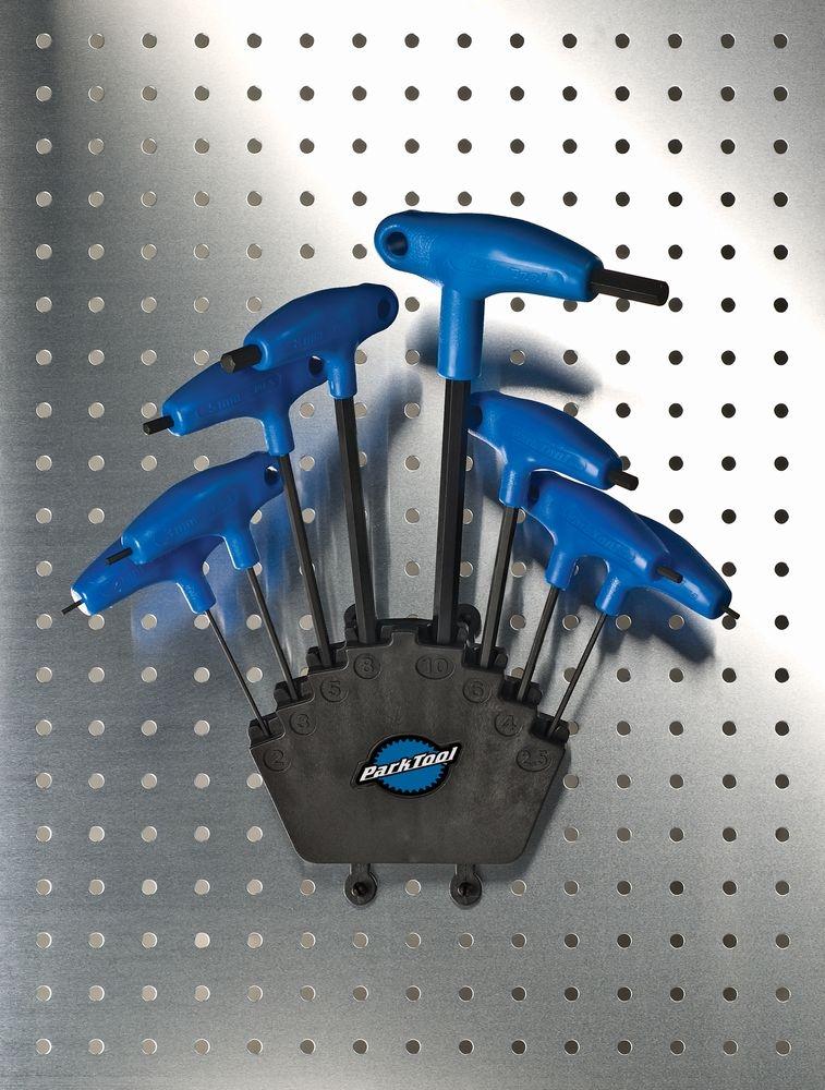 Kit de clé Park Tool allen 2/2.5/3/4/5/6/8/10 mm avec poignée - PH-1