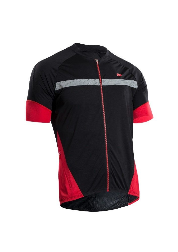 Maillot Sugoi RS Century Zap Jersey Noir/Rouge - S