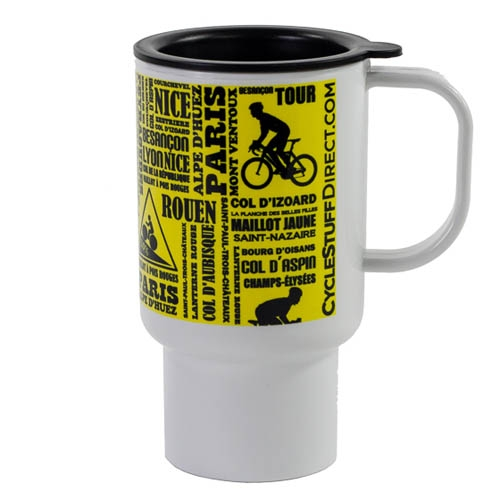 Mug de voyage Tour de France 312ml Jaune