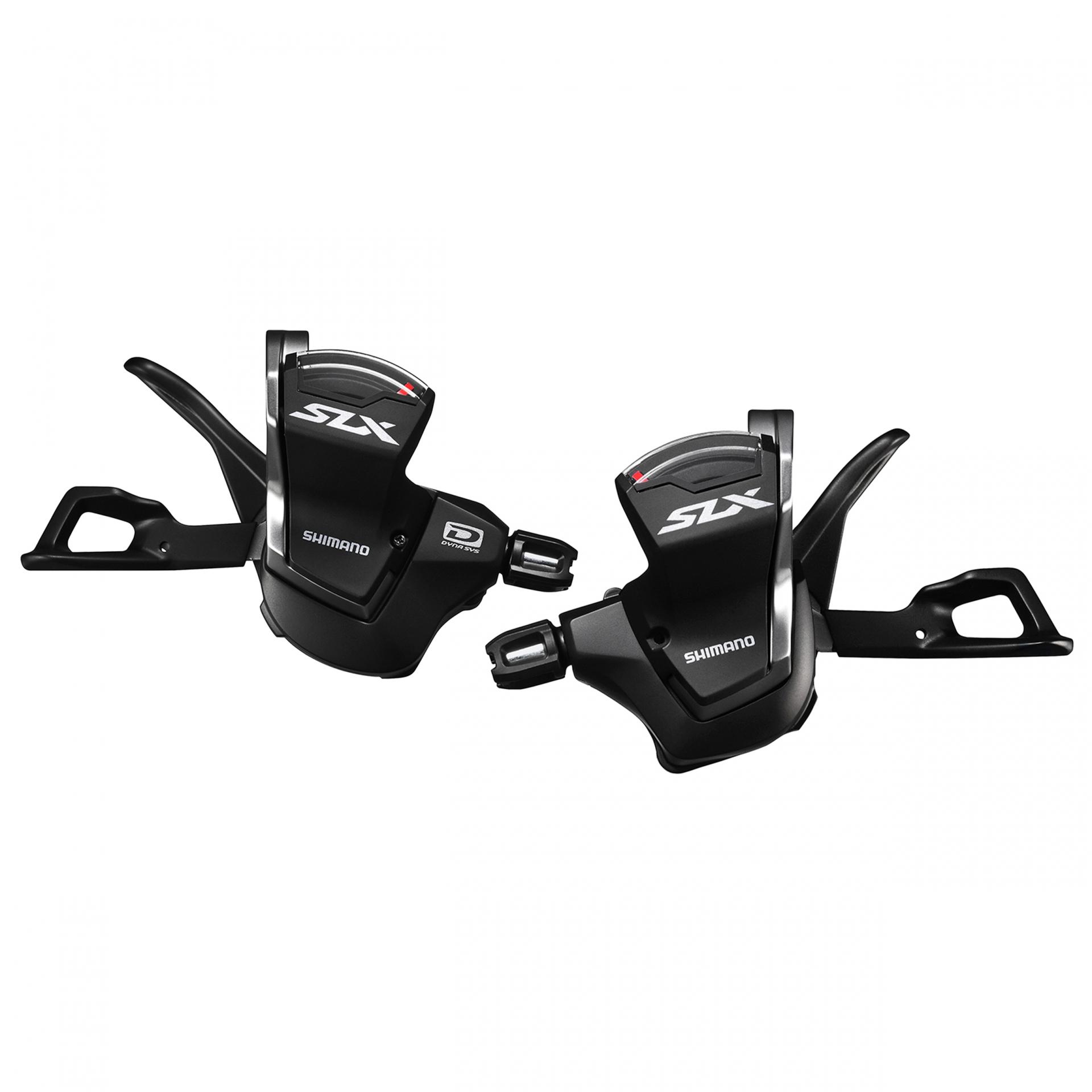 Manette de vitesses Shimano SLX M7000 2/3x11V (Paire) Noir