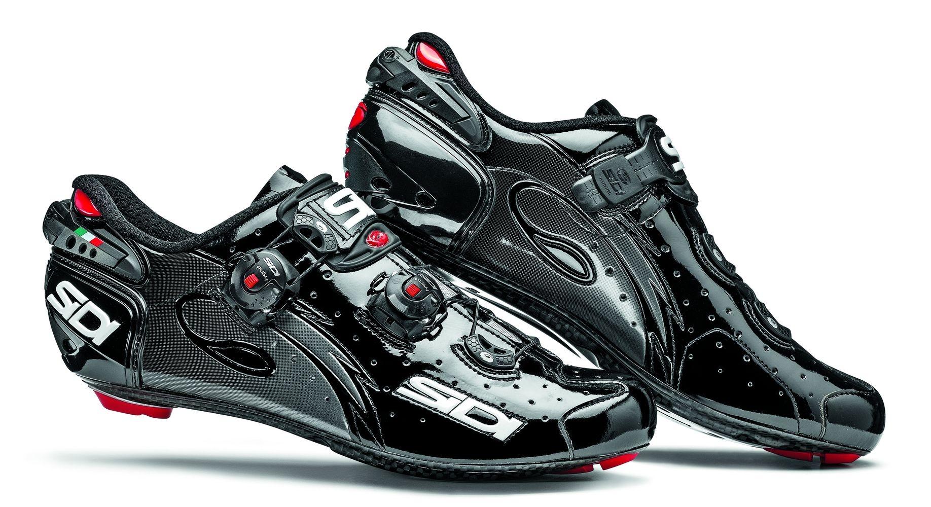 Chaussures Sidi WIRE Carbon Vernice Noir verni - 42