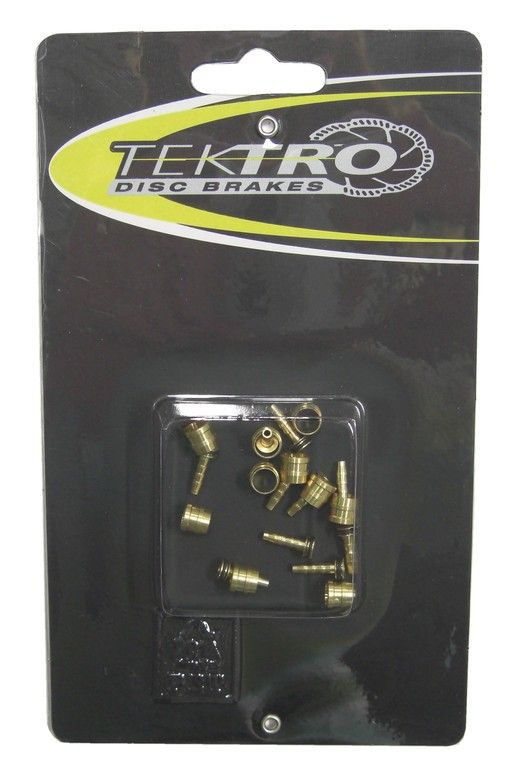 Kit pièces de raccord hydrau Tektro p. Auriga Comp, Auriga Sub/Twin, Draco