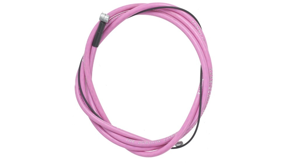 Câble + gaine de frein BMX TSC Linear Brake Cable Rose