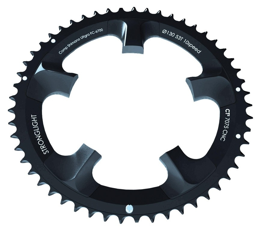 Plateau de pédalier Stronglight Ultegra 110mm 39 dents CT2