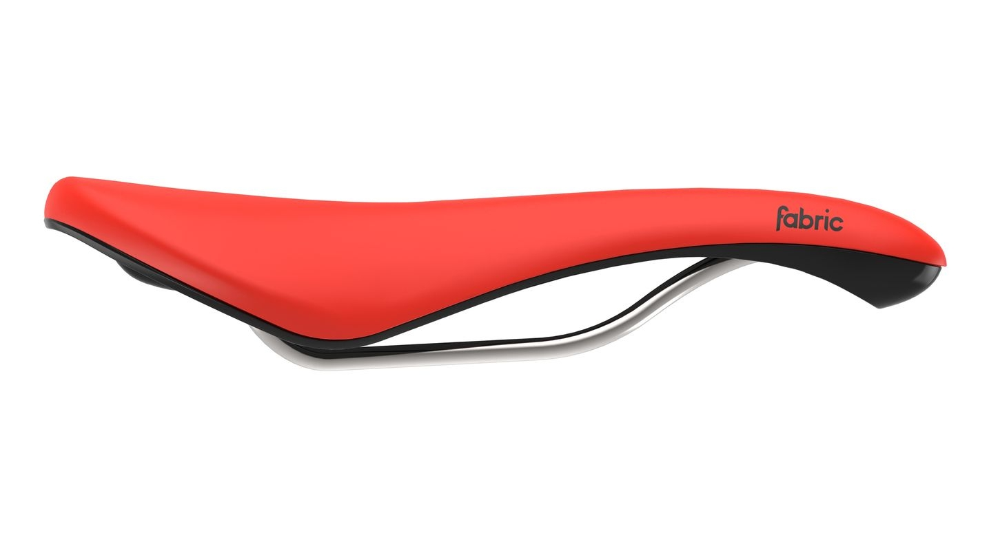 Selle Fabric Scoop Radius Elite 142 mm Rouge/Noir