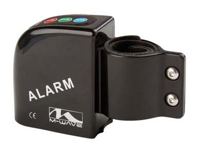 Alarme antivol vélo M-Wave WatchDog 120 dB Fixation 25-30 mm