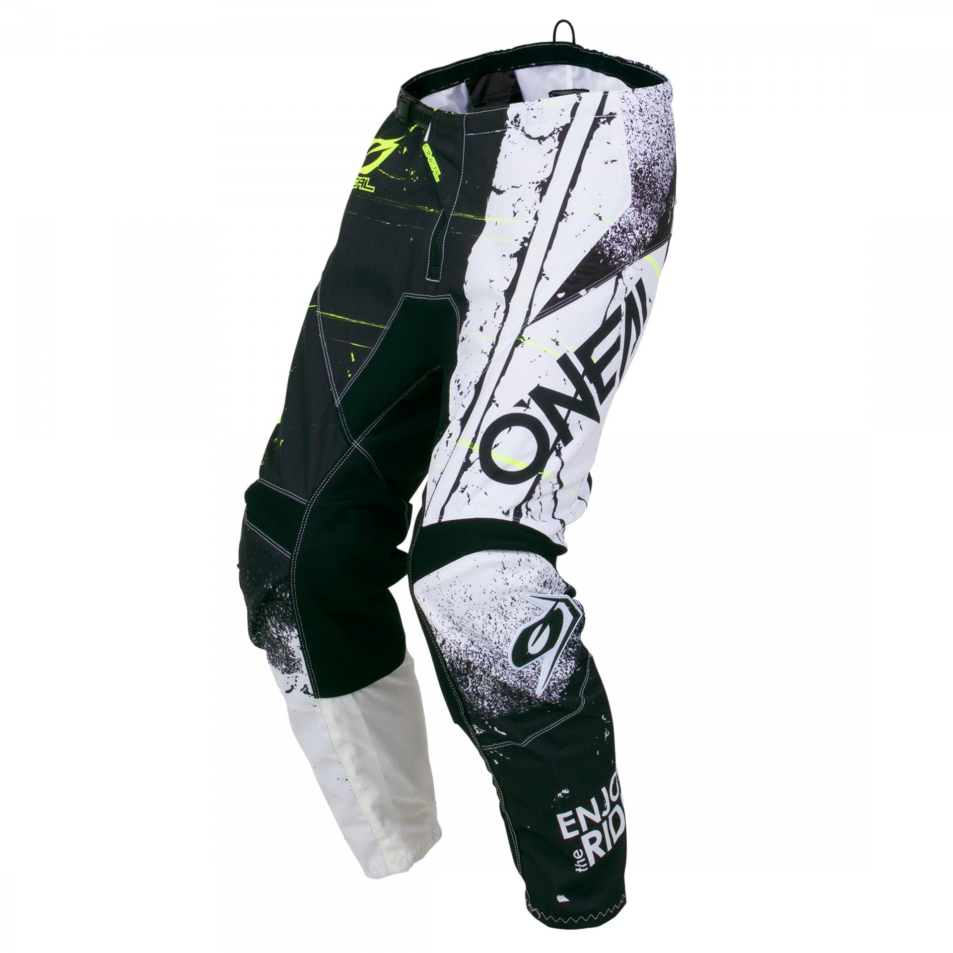 Pantalon MX O'Neal Element enfant Shred Noir - 22