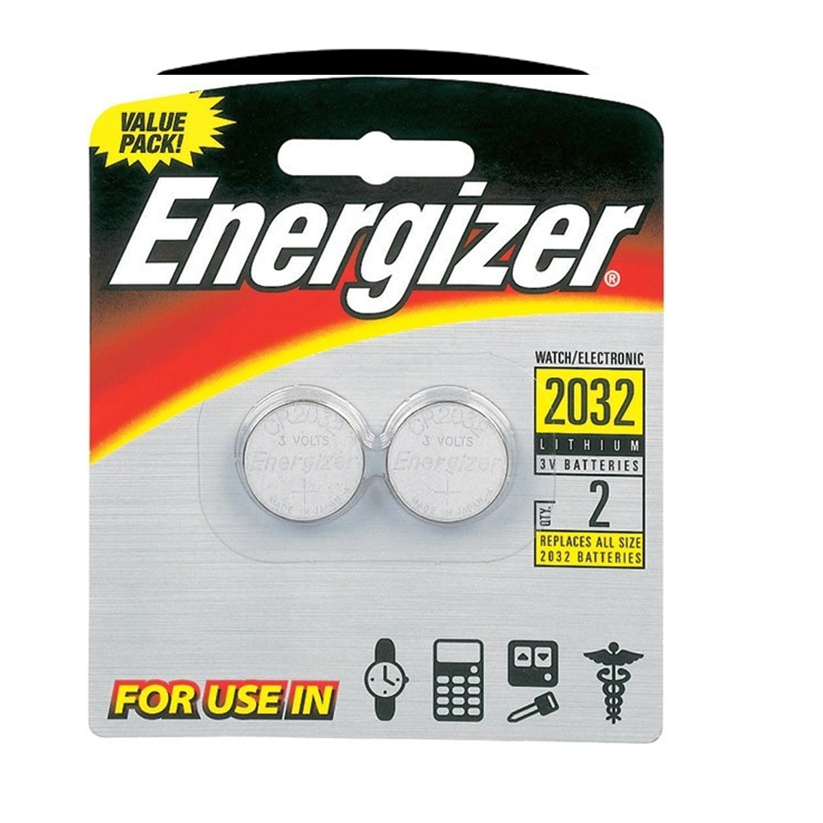 Pile Energizer CR2032 3V Lithium