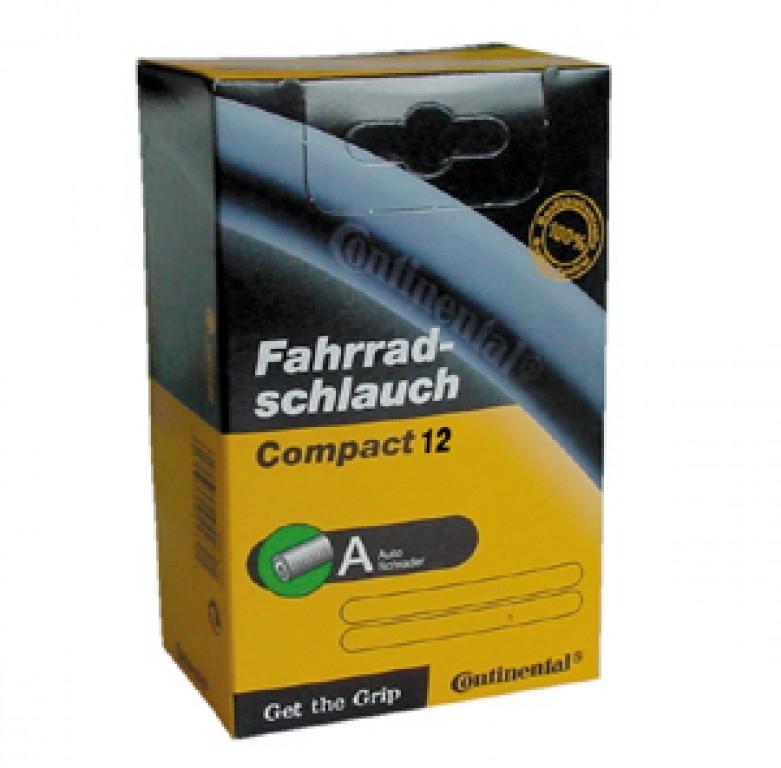 Chambre à air Continental Compact 12.1/2 x 1.75/2.25 valve Schrader 34 mm