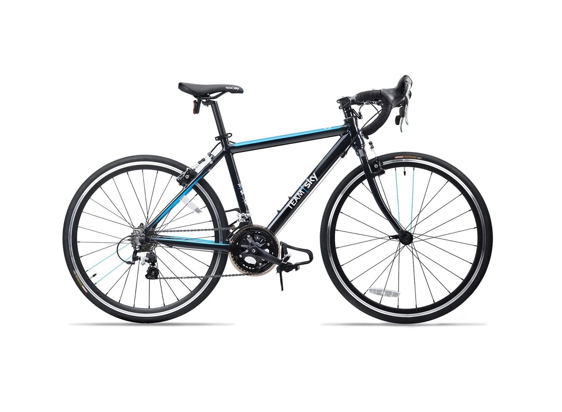 Vélo route enfant Frog Bikes Road 58 Noir/Bleu Team Sky