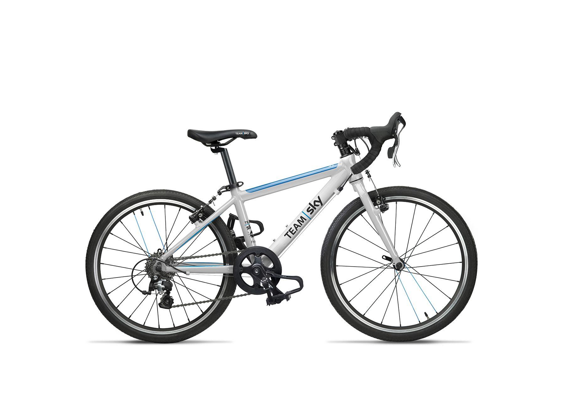 Vélo route enfant Frog Bikes Road 58 Blanc/Bleu Team Sky