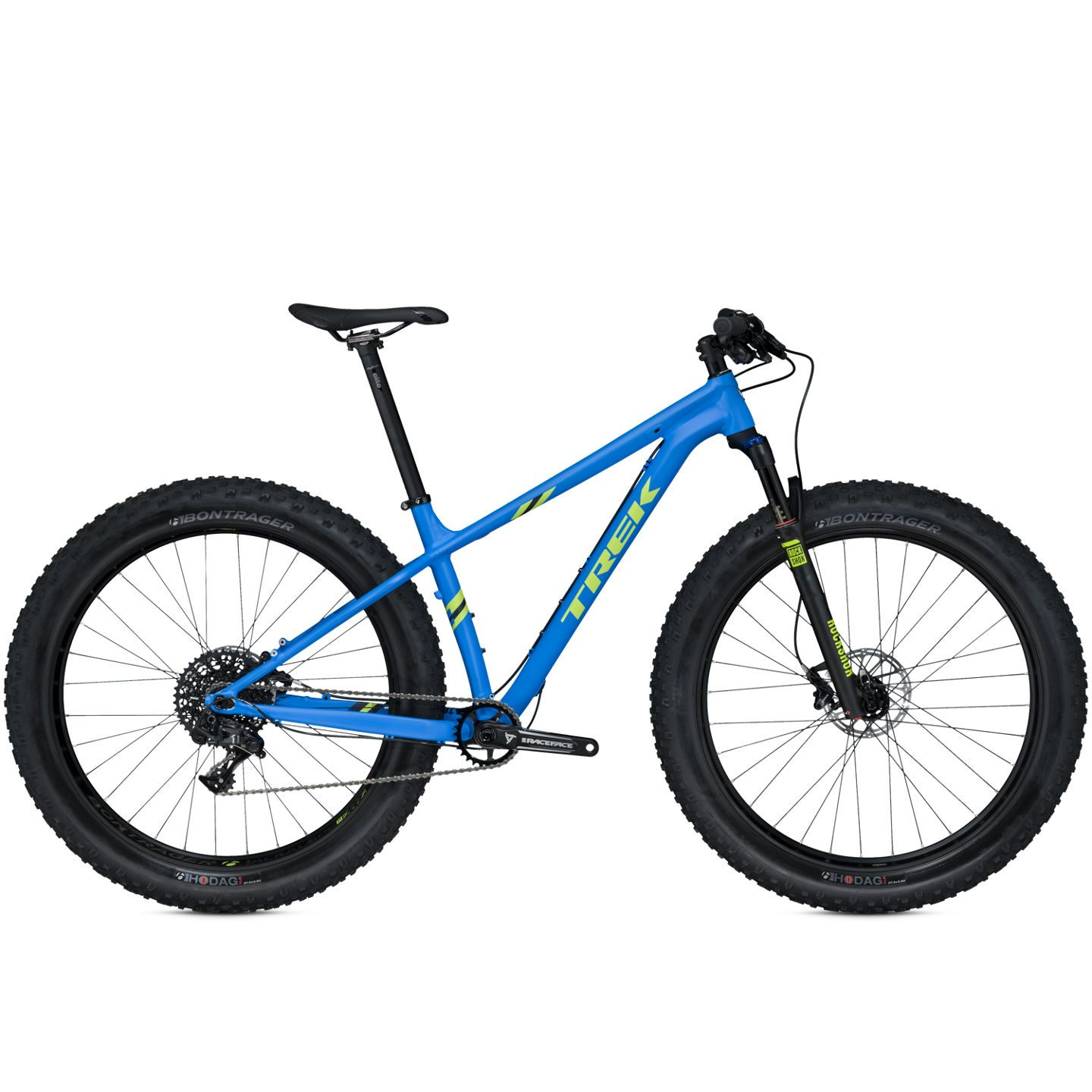 VTT fat bike Trek Farley 9 (Matte Waterloo Blue) - 17.5 pouces