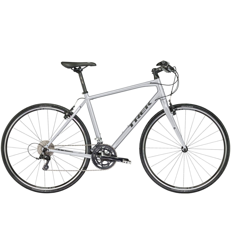 Vélo fitness Trek FX S 4 Gris 2017 - 17.5 pouces