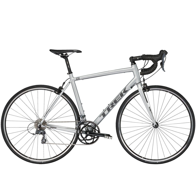 Vélo route Trek 1.1 Compact H2 Gris 2017 - 52 cm
