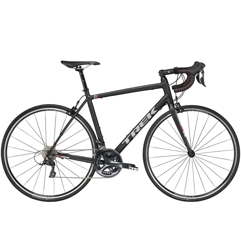 Vélo route Trek 1.2 Compact H2 Noir Mat 2017 - 50 cm
