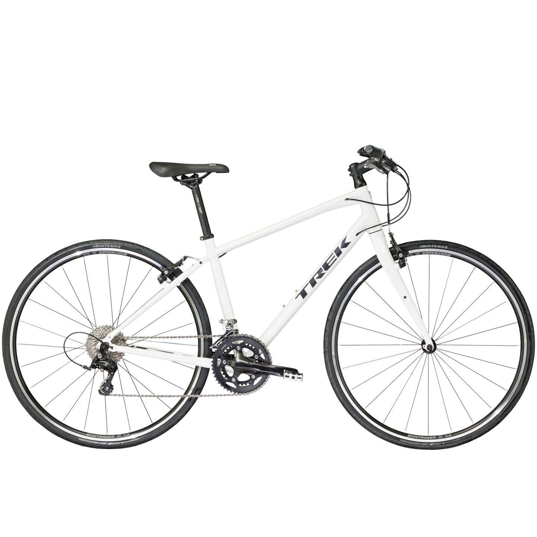 Vélo fitness Trek FX S 4 WSD Blanc 2017 - 15 pouces