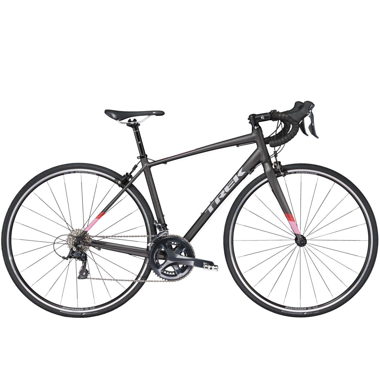 Vélo route Trek Lexa 3 WSD 2017 Noir mat - 50 cm