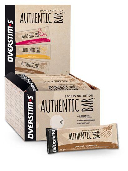 Barre énergétique Overstim.s Authentic Bar Banane/Amande (Unité)