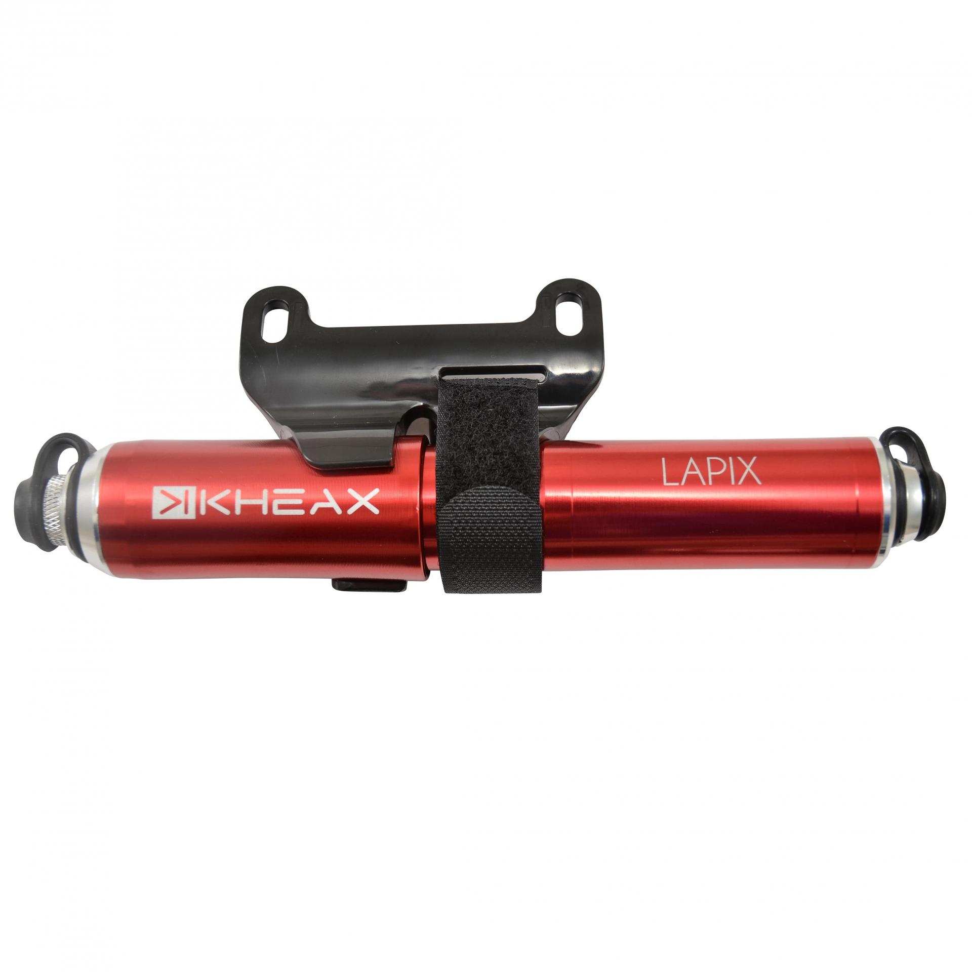 Mini pompe KHEAX Lapix VTT S Rouge (185 mm)