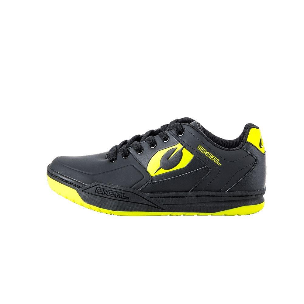 Chaussures O'Neal Pinned SPD Hi-Viz Noir/Jaune - 42
