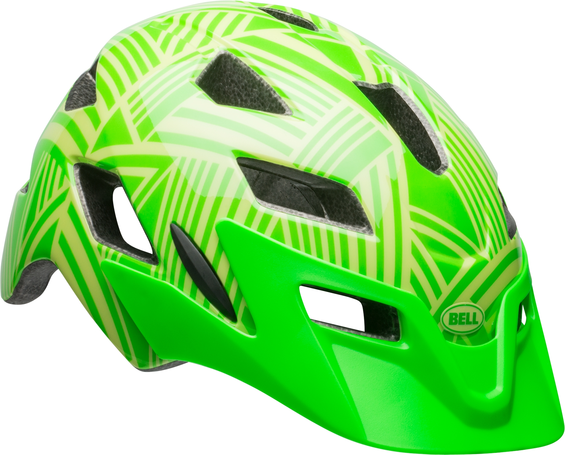 Casque junior Bell SIDETRACK YOUTH Vert Kryptonite/Retina