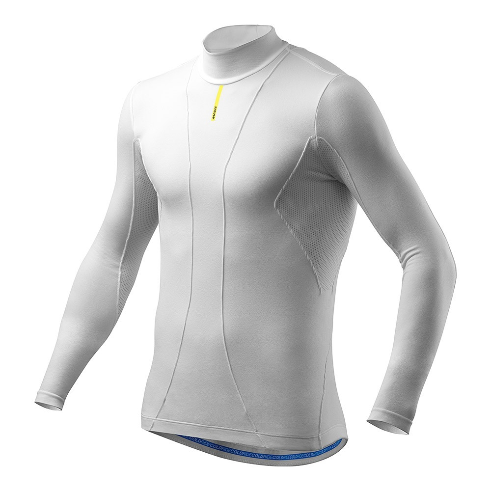 Maillot thermique Mavic Cold Ride manches longues Blanc - XS/S