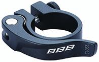 Collier de serrage rapide BBB SmoothLever 31.8 mm Noir - BSP-87