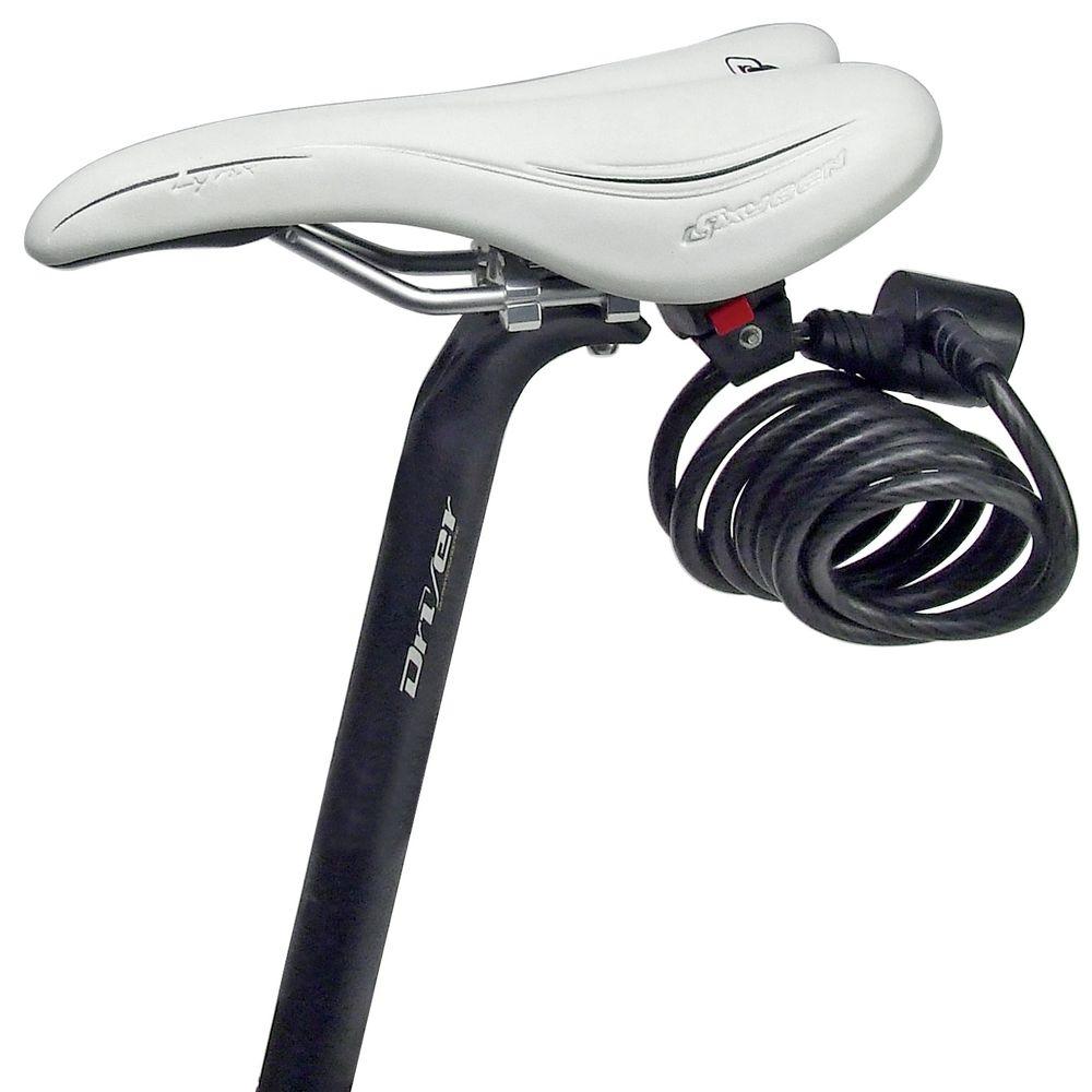 Support antivol câble KLICKfix sur chariot de selle