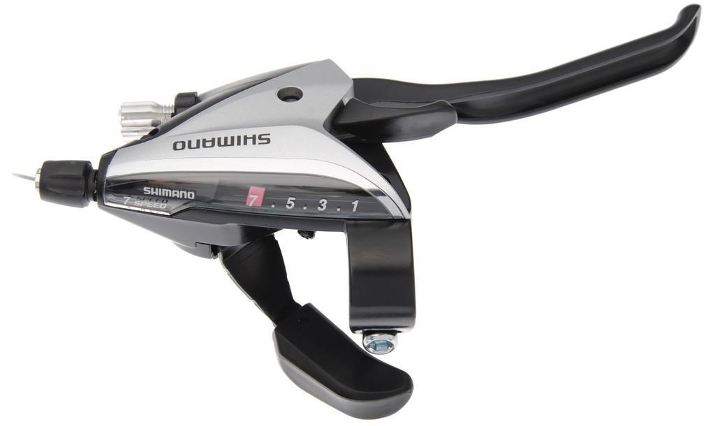 Levier de frein/Manette Shimano ST-EF 65 7V argent à 4 doigts