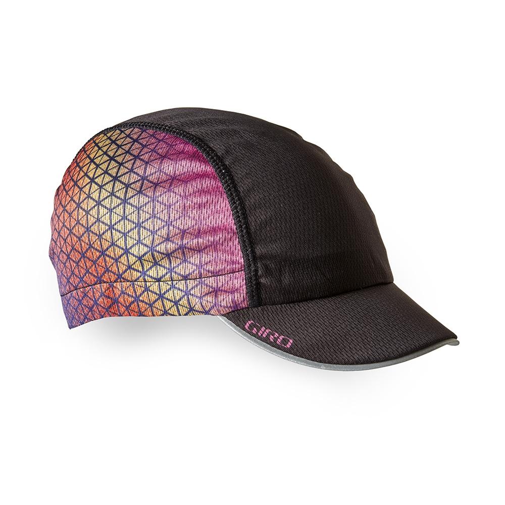 Casquette Giro Peloton Cap Noir/Boxfish Purple