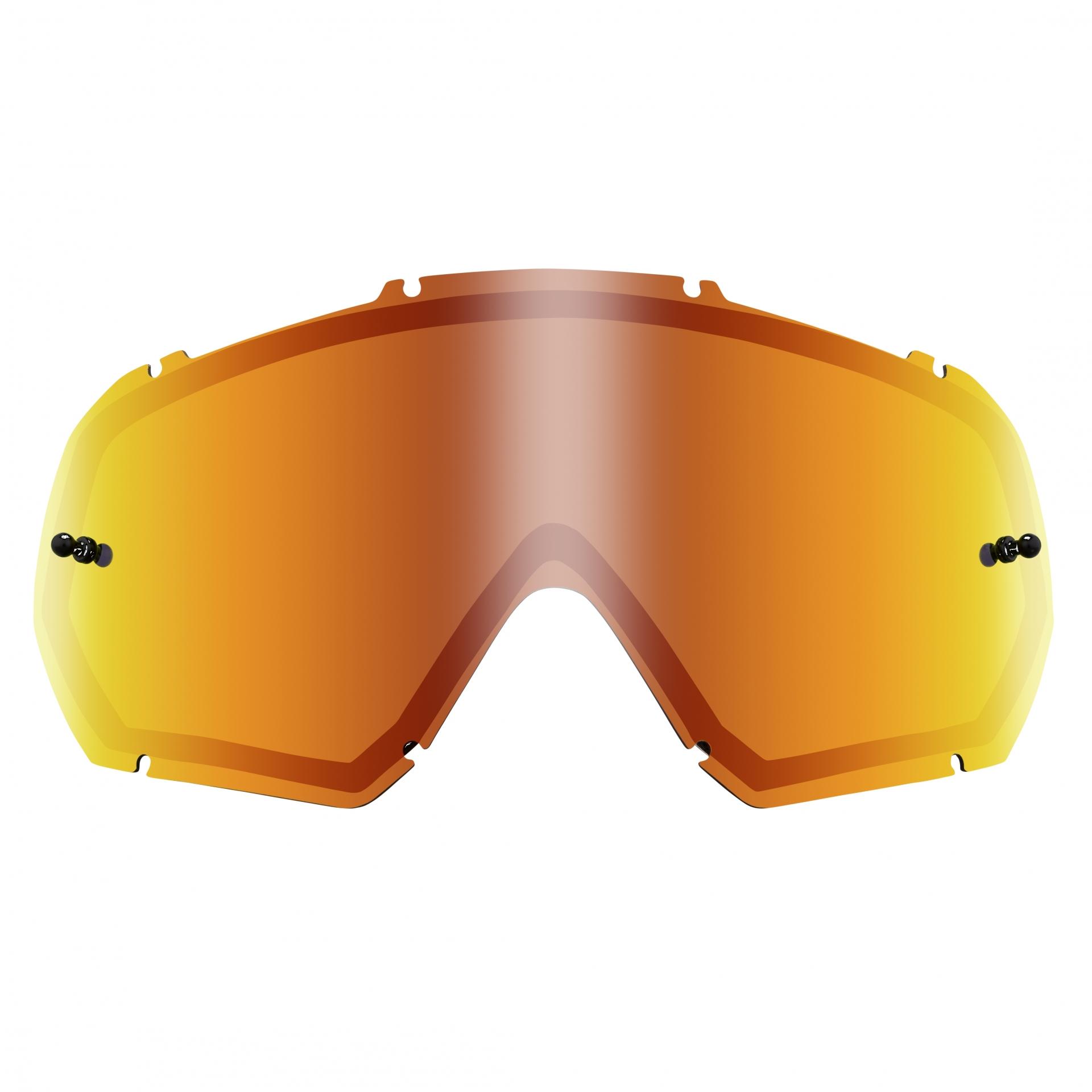 Écran O'Neal pour masque B-10 Goggle Spare Double Lens Radium Rouge