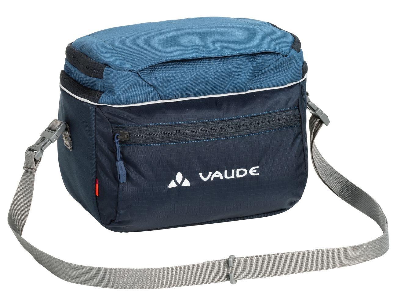Sacoche de guidon Vaude Road I 6 L + support KLICKfix Bleu Marine