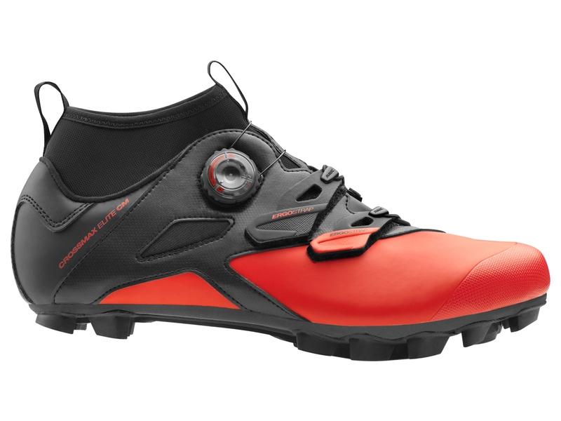 Chaussures Mavic Crossmax Elite CM Noir/Rouge Fiery - 43 1/3