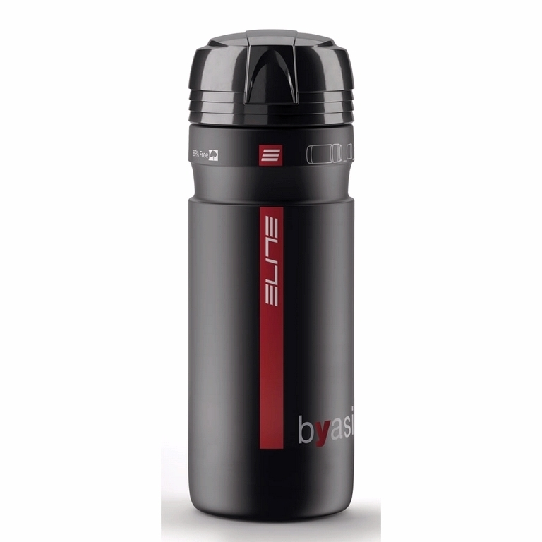 Bidon porte-outils Elite Byasi 750 ml Noir