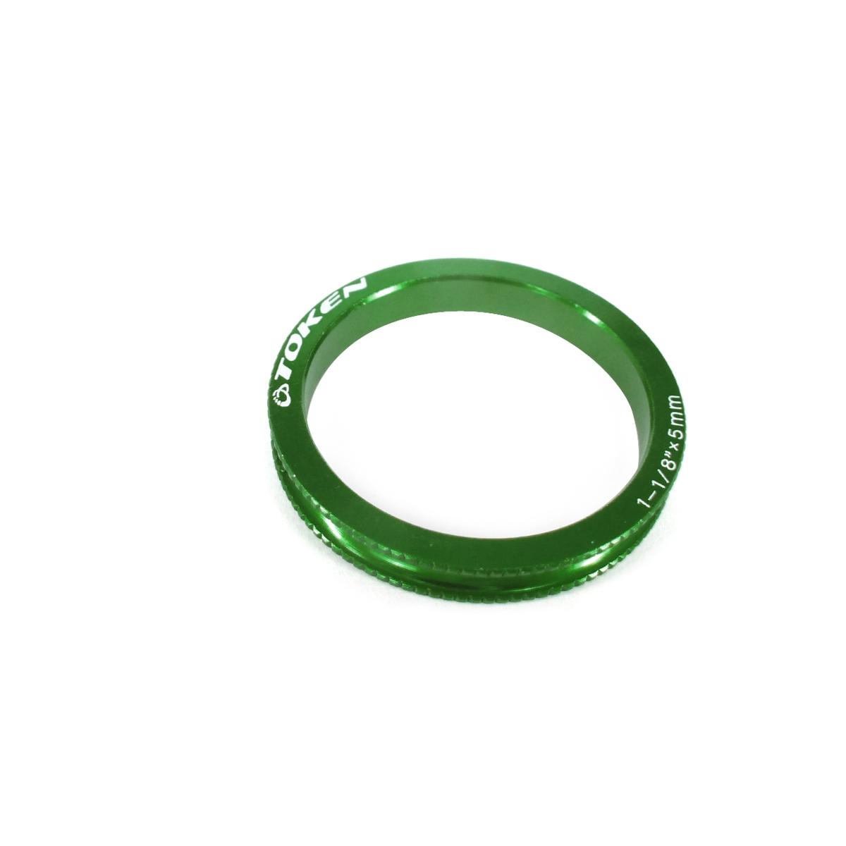 Entretoise Ahead-Set Token 5 mm 3,2 G Vert X 10