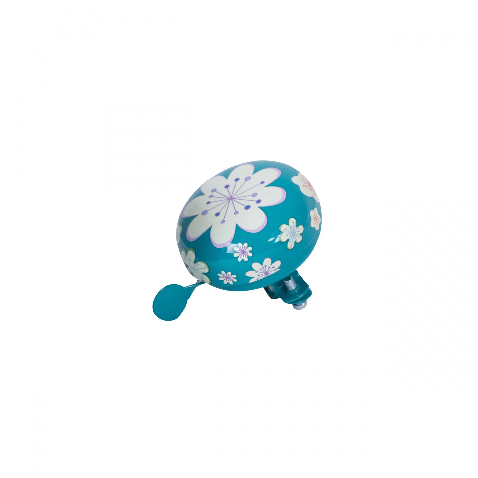 Sonnette Kiddimoto 60 mm Fleur Bleu
