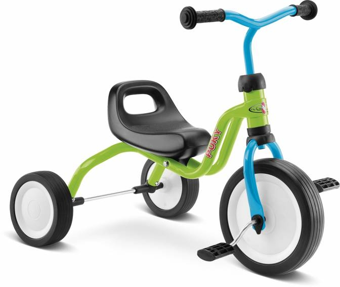 Tricycle PUKY Fitsch 1 an 1/2 Kiwi/Bleu