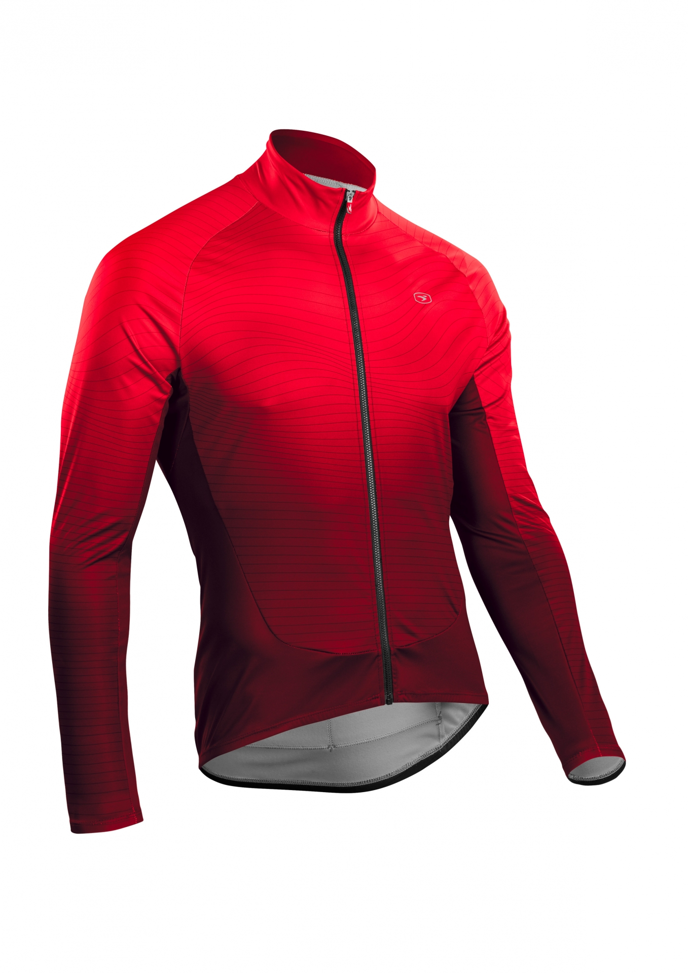 Maillot manches longues Sugoi RS Training Jersey Rouge Chili/Line - L